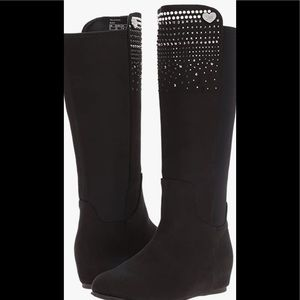 Stuart Weitzman Iselle Pearl K-boots girls size 3